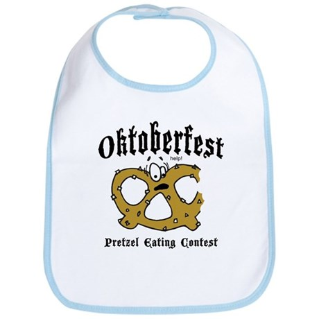 Pretzel Eating Contest Bib