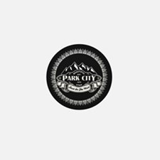 Park City Mountain Emblem Mini Button