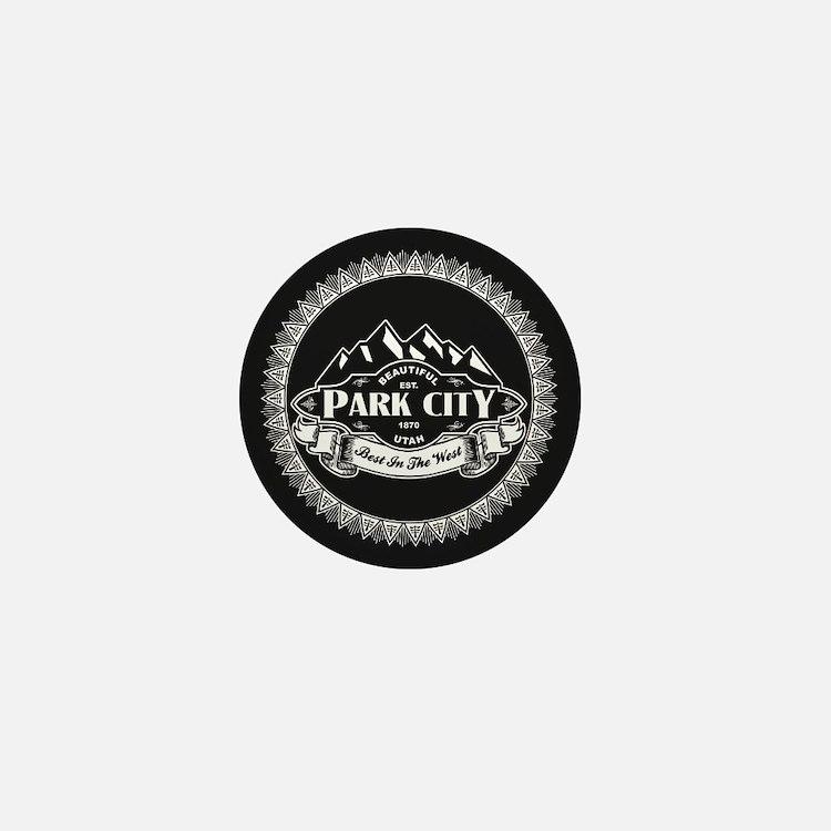 Park City Mountain Emblem Mini Button