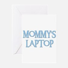 MOMMY'S LAPTOP Greeting Cards (Pk of 10)