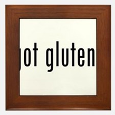 Got Gluten? Framed Tile