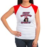 Women's Cap Sleeve Jackoholic T-Shirt