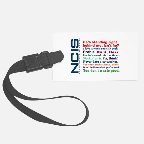 NCIS Quotes Luggage Tag