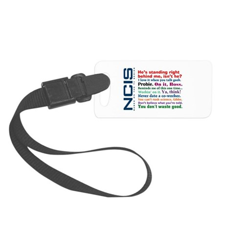 NCIS Quotes Small Luggage Tag