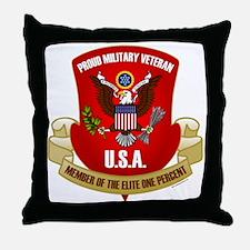 Elite One Percent Throw Pillow