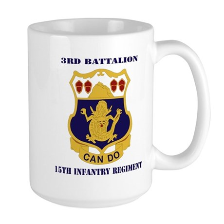 DUI - 3rd Battalion 15th Infantry Regiment with Te