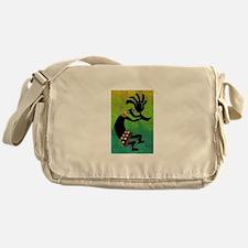 Dancing Kokopelli-3 Messenger Bag