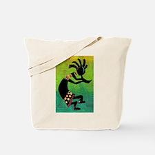 Dancing Kokopelli-3 Tote Bag