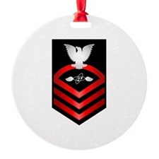 Navy Chief Aviation Electronics Tech Ornament