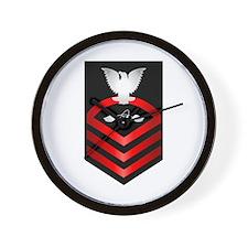 Navy Chief Aviation Electronics Tech Wall Clock