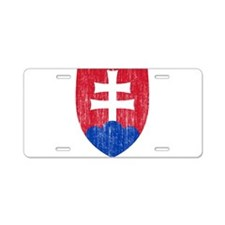 Slovakia Roundel Aluminum License Plate