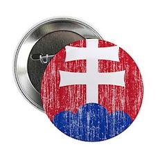 """Slovakia Roundel 2.25"""" Button"""