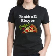 Football Player Pizza Tee