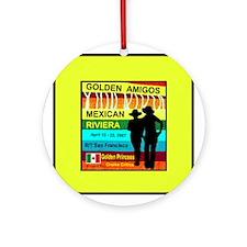Golden Amigos -Apr. 12, 2007 Ornament (Round)