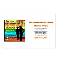 Golden Amigos -Apr. 12, 2007 Postcards (Package of
