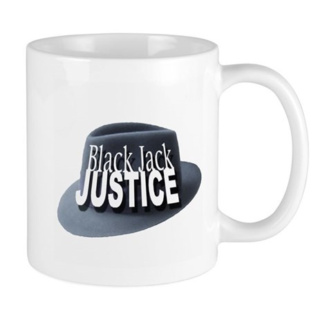 Black Jack Justice Mug