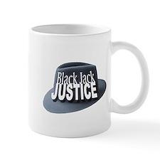 Black Jack Justice Small Mug