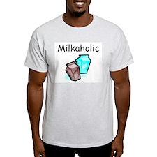 Milkaholic Ash Grey T-Shirt