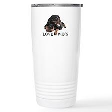 Rottie Travel Coffee Mug