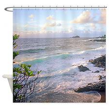 Hana Tropical Sunset Maui Shower Curtain