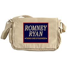 Romney Ryan Taking Care of Business Messenger Bag