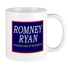 Romney Ryan Taking Care of Business Mug