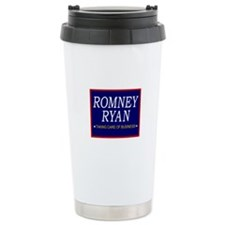 Romney Ryan Taking Care of Business Travel Mug