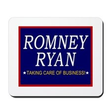 Romney Ryan Taking Care of Business Mousepad