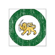 "Rhodesia Roundel Square Sticker 3"" x 3"""