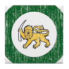 Rhodesia Roundel Tile Coaster