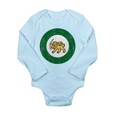 Rhodesia Roundel Long Sleeve Infant Bodysuit