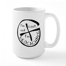 Im Not Lost...Im Geocaching Ceramic Mugs