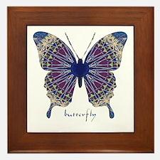 Insomnia Butterfly Framed Tile