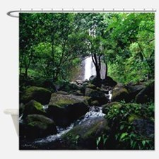 Manoa Falls Tropical Shower Curtain