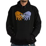 Art in Clay / Heart / Hands Hoodie (dark)