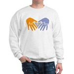 Art in Clay / Heart / Hands Sweatshirt