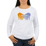 Art in Clay / Heart / Hands Women's Long Sleeve T-
