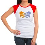 Art in Clay / Heart / Hands Women's Cap Sleeve T-S