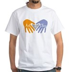 Art in Clay / Heart / Hands White T-Shirt