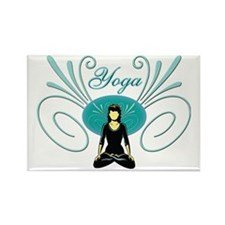 Yoga #3 Rectangle Magnet