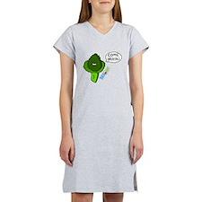 Come brócoli by Yogome Women's Nightshirt