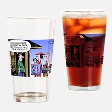 Religion Politics Drinking Glass