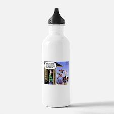 Religion Politics Water Bottle