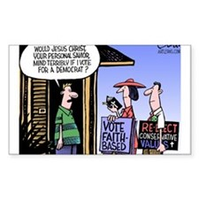 Religion Politics Decal