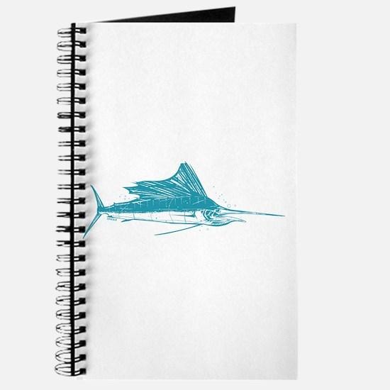 Sailfish Teal Journal