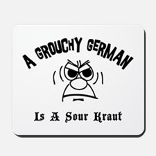 Grouchy German Mousepad