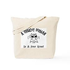 Grouchy German Tote Bag