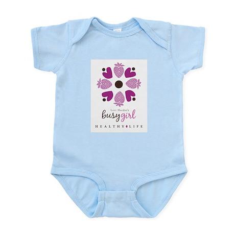 Busy Girl Healthy Life Infant Bodysuit