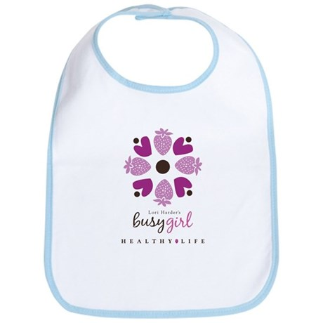 Busy Girl Healthy Life Bib