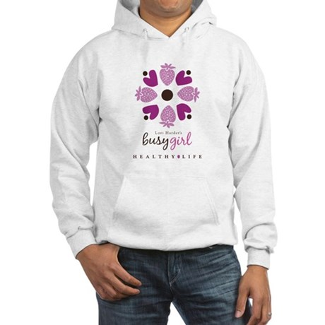 Busy Girl Healthy Life Hooded Sweatshirt